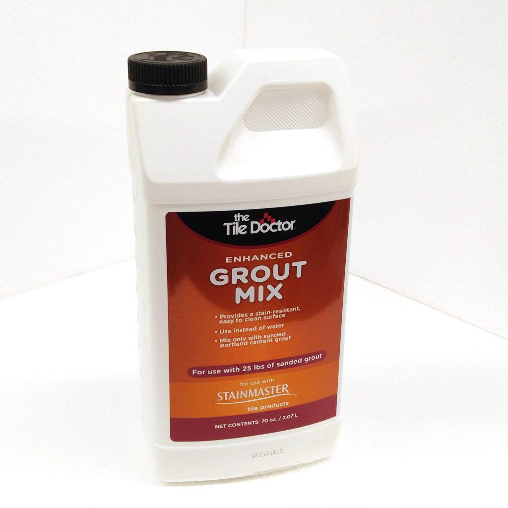 applying the waterproof grout sealer