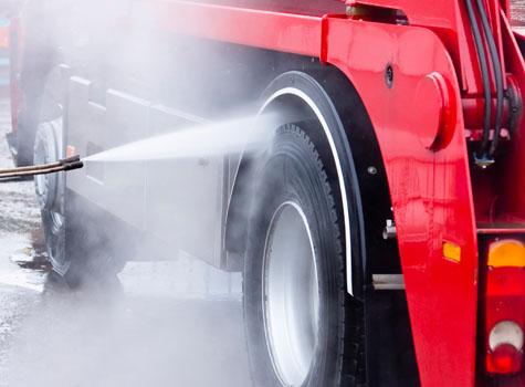 C18 truck wash