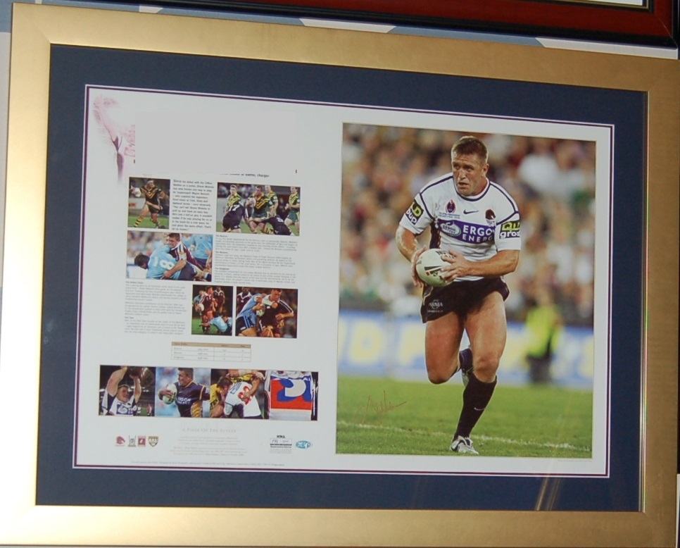 Going With Rugby League Memorabilia